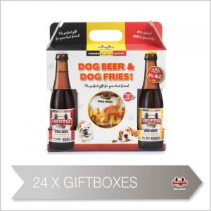 Snuffle Dog Giftbox with Dogbeer and Fries