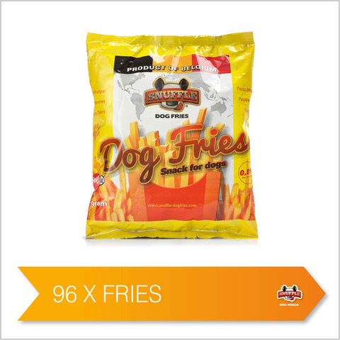 Snuffle Dog Fries 96 bags