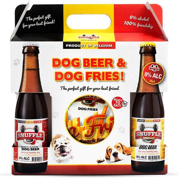 Giftbox Dog Beer & Dog Fries