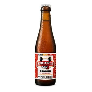 Snuffle Dogbeer Bottle Mixed Chicken & Beef Flavour